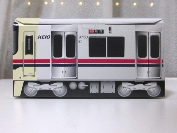 京王 9000系クッキー側面