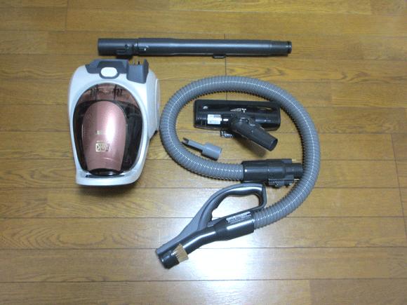 三菱電機の掃除機 Be-K(ビケイ)(ビケイ)